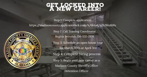 Recruiting Applicants for Detention Officers (03/28/2018