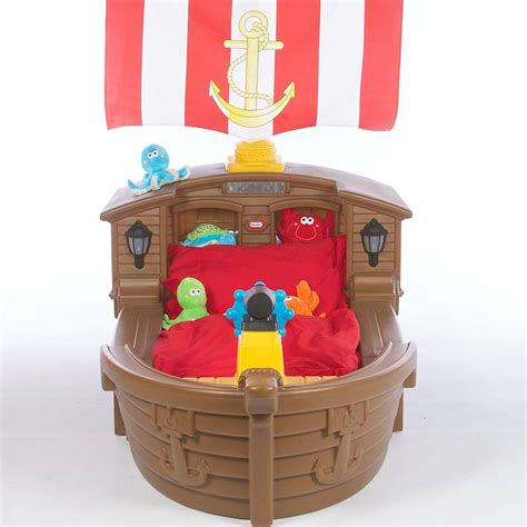 Little Tikes Pirate Ship Toddler Bed - $420