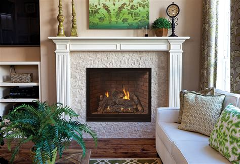 Empire Tahoe Clean-Face Direct-Vent Traditional Fireplace