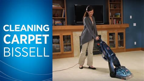 How to Use a BISSELL Carpet Cleaner - YouTube