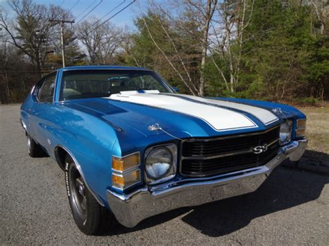 1971 Chevrolet Chevelle SS Matching Numbers 402 4 Speed