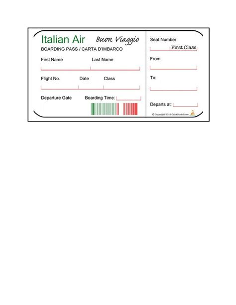 16 Real & Fake Boarding Pass Templates - 100% FREE ᐅ