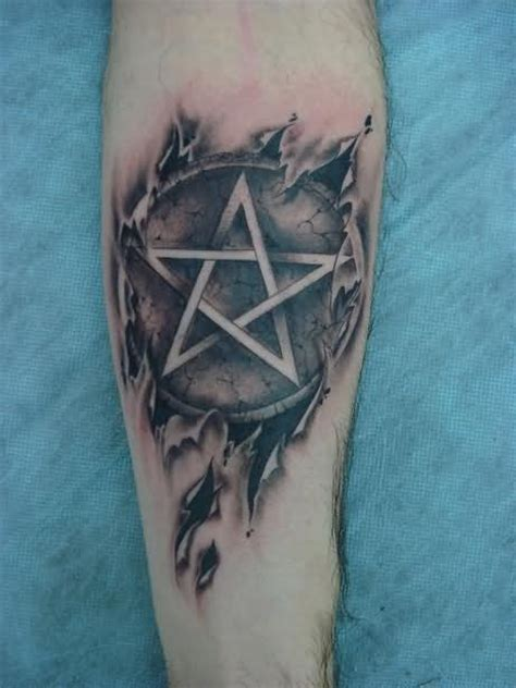 Pentagram Tattoos Designs, Ideas and Meaning | Tattoos For You