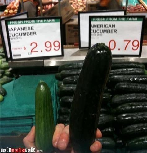 The proof is in the cucumber (With images)   Funny