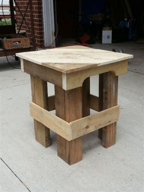 Some Useful Ideas on Making Reclaimed DIY Pallet End