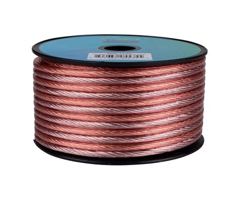 Speaker Cable - 12 AWG OFC Copper - 50 ft