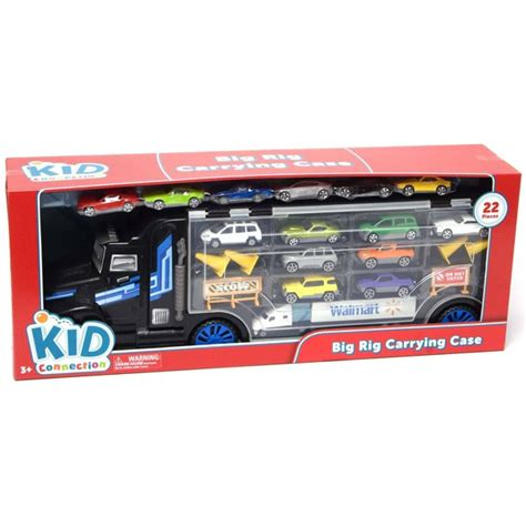 Kid Connection Big Rig Carrying Truck Case - Walmart