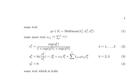 mathtools - italic after math equation: how to solve (not