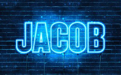 Download wallpapers Jacob, 4k, wallpapers with names