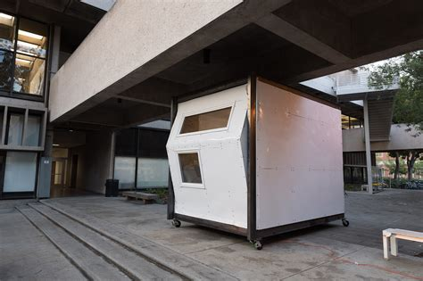 Architecture Students Design Temporary Shelter for the