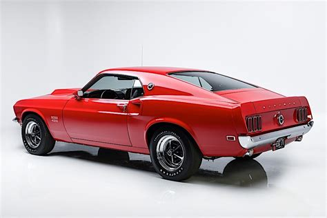 Candy Apple Red 1969 Ford Mustang Boss 429 Is the Sweet
