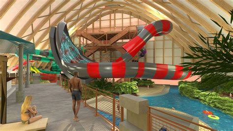 Kartrite water park celebrates completion of structural