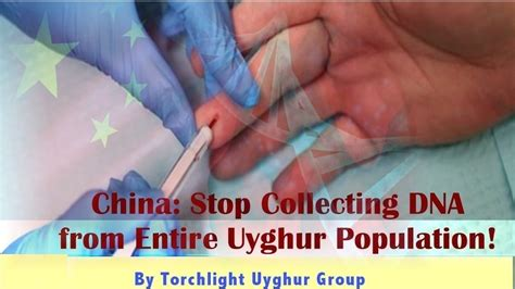 Petition · China: Stop Collecting DNA from Entire Uyghur