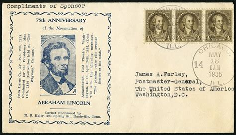 The 1860 Republican Nomination | National Postal Museum