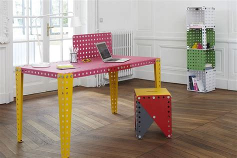 Meccano Debuts a Life-Sized Furniture System   Architect