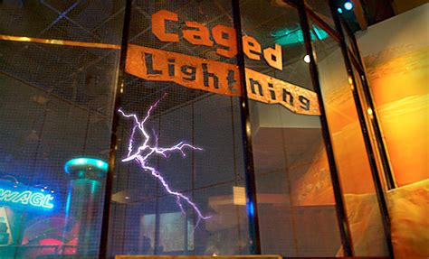 Caged Lightning | Questacon - The National Science and