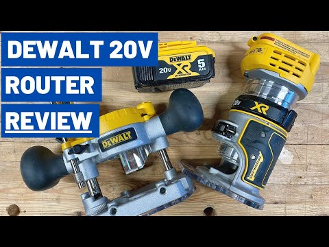DeWalt DWP611PK Compact Router With Trim Router Table and