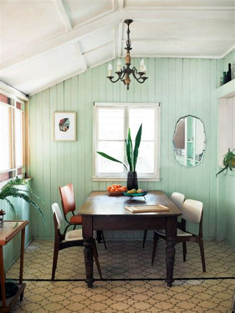Mint Color In the Interiors: 35 Trendy Ideas - DigsDigs
