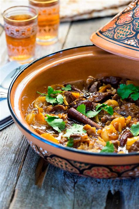Lamb Tagine with Dates and Apricots - keviniscooking