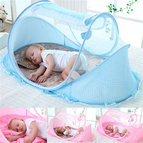 12-36 Month Baby Travel Bed Portable Infant Baby Travel