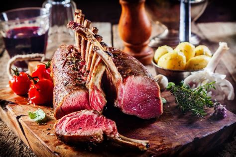 Rack of Lamb with Red Wine Sauce Recipe   The Wine Gallery