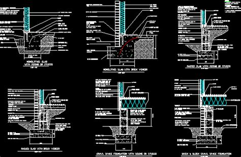 Foundation Details DWG Full Project for AutoCAD • Designs CAD