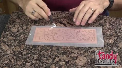 Learning Leathercraft with Jim Linnell, Lesson 1: Tracing