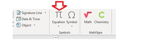 MathType for Equations | Web Accessibility | Michigan