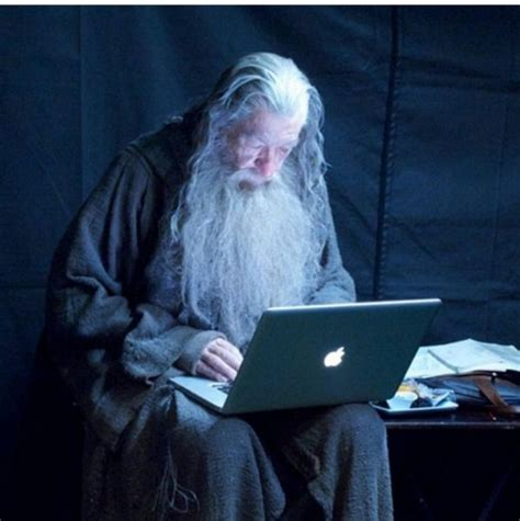 Tech Support Gandalf Is Here To Help - Neatorama