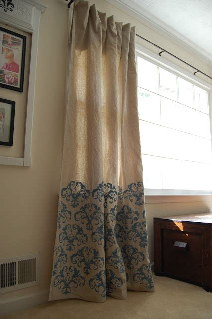 20+ DIY Drop Cloth Curtains For You to Make   Guide Patterns