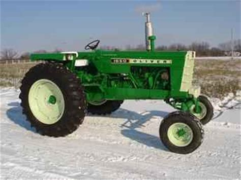 Used Farm Tractors for Sale: 1968 Oliver 1650 Restored