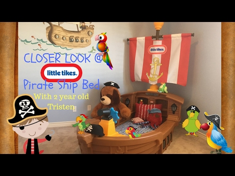 A Look At The Little Tikes Toddler Pirate Ship Bed