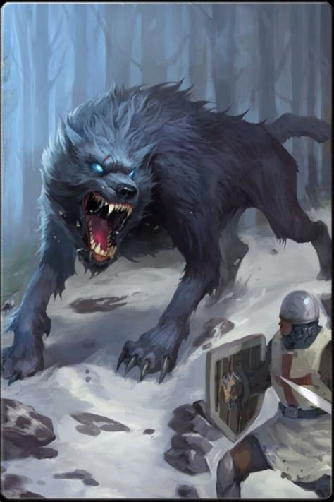 And in the snows of winter, the dire wolf shall come and
